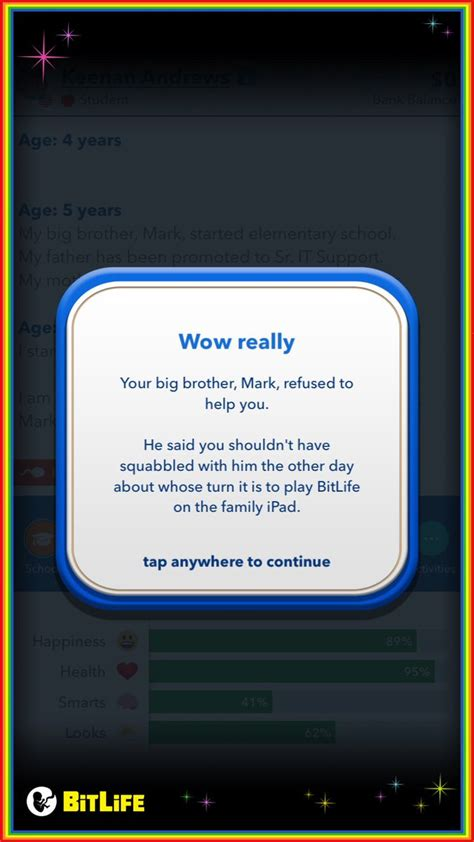 bitlife update though