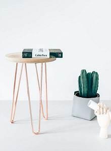 Hairpin Tischbeine Ikea : tischbeine hairpin legs in kupfer von trivial project of berlin ~ Eleganceandgraceweddings.com Haus und Dekorationen
