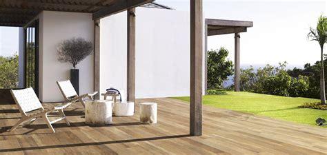 carrelage imitation teck terrasse palzon