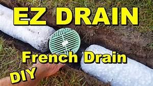Easy Flow Drainage : backyard sump ez flow french drain youtube ~ Frokenaadalensverden.com Haus und Dekorationen