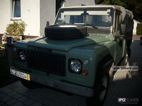 land rover series 3 off road 1984 land rover series iii car photo and specs