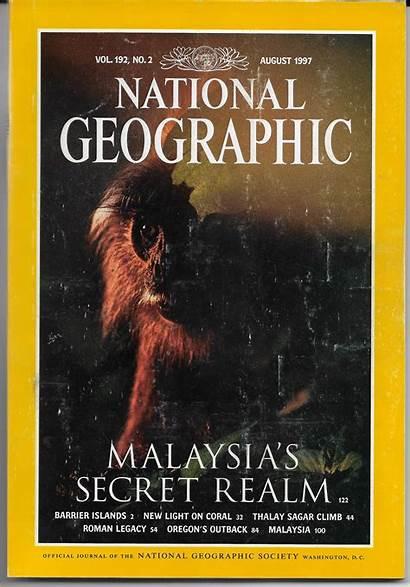 1997 Geographic National Magazine August Ephemera Paper