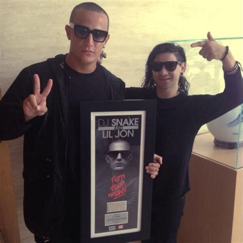 dj snake and lil jon dj snake and lil jon go platinum in canada for turn down