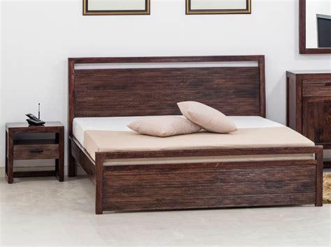 Bett Holz Massiv Amiya  160x200 Cm Günstig Kaufen
