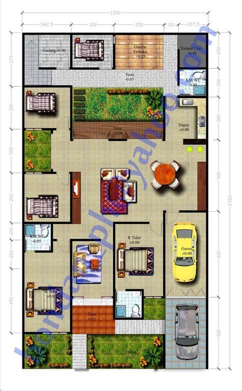 mengagumkan  desain rumah mewah  lantai  kamar