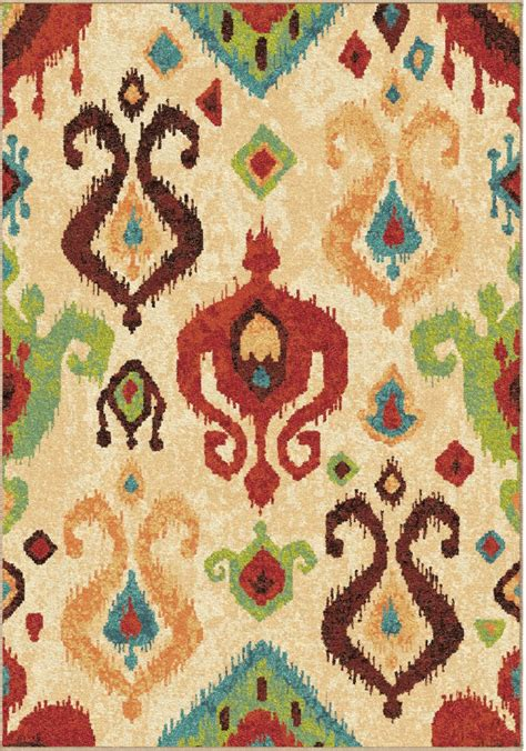 bright multi colored area rugs orian rugs bright color southwest aztec jubilee multi area