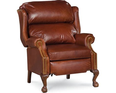 Thomasville Leather Recliners by Recliner Leather Chairs And Chaises Living
