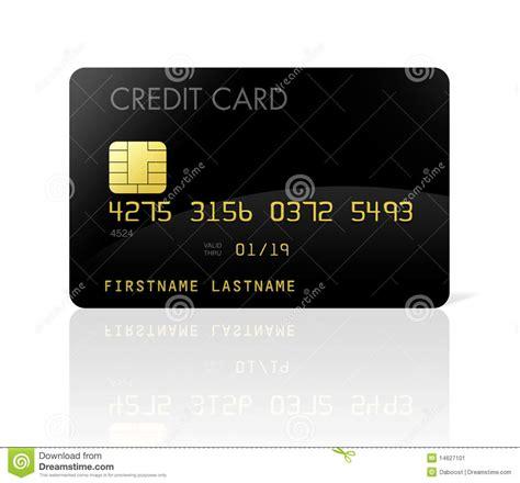 black credit card stock image image