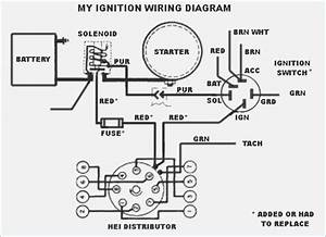 Ford 302 Hei Distributor Wiring Diagram  Ford  Wiring