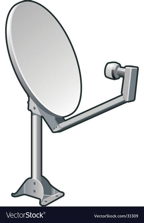 Satellite Dish Royalty Free Vector Image Vectorstock