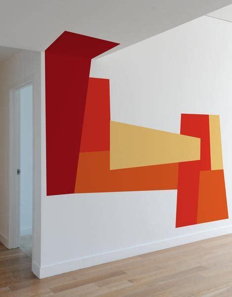 color block wall art  adhesive vinyl stickers blik