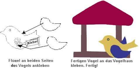 vogelhaus winter basteln zeichnen kunst kinder