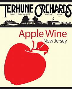 apple wine terhune orchards With apple wine labels