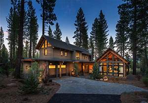 Rustic mountain house with a modern twist in Truckee ...