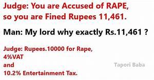 Indian Tax Funn... Marathi Tapori Quotes