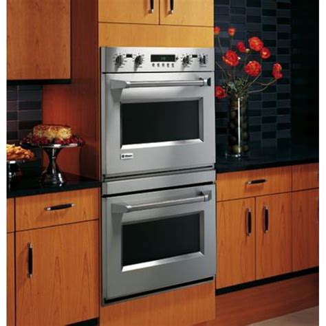 ge zetpmss monogram  built  professional electric convection double wall oven