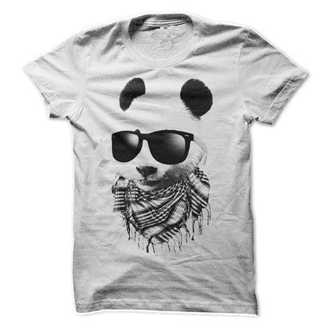 T Shirt Panda Black Metal Putih hip panda t shirt t shirt