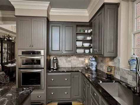 rustic grey kitchen cabinets 80 best farmhouse gray kitchen cabinets decor ideas
