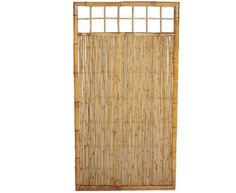 Garten Sichtschutz Oben by Sichtschutzzaun Bambus Mit Gitter Oben 180x90cm Kaufen