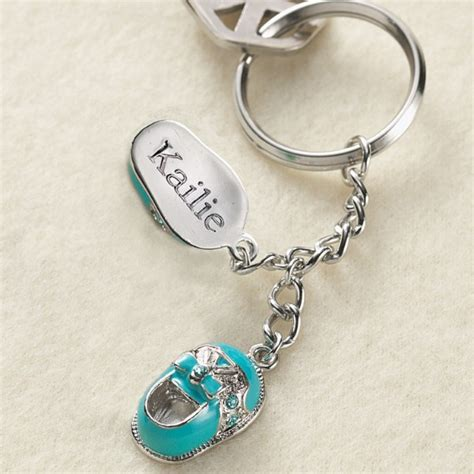 baby shower keychains personalized baby shower gifts at personal creations