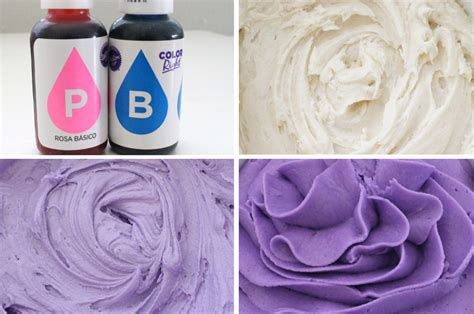 how to make purple color how to make s day frosting two