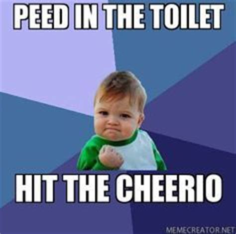 Potty Training Memes - the results are in to pee mom meme and training