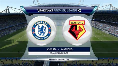 FIFA 16 - Chelsea vs. Watford @ Stamford Bridge - YouTube
