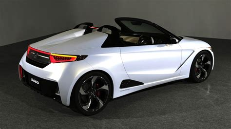 Honda New S2000 by Honda S2000 Successor Revealed Ahead Of Tokyo Motor Show