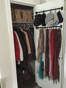 Small Coat Closet Organizing outerwear in a compact space ...
