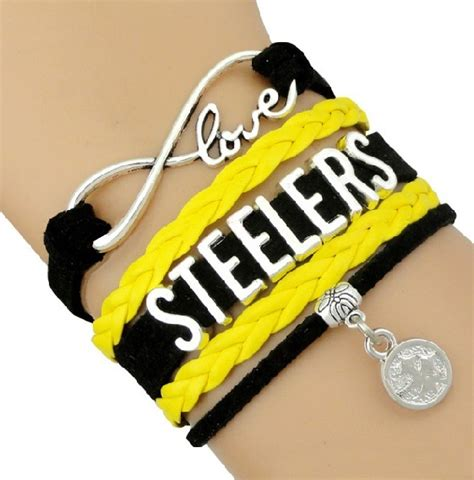pittsburgh steelers fan gear pittsburgh steelers football fan shop infinity bracelet