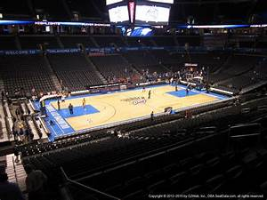 Chesapeake Energy Arena Section 210 Oklahoma City
