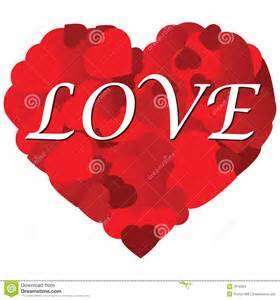 Heart with Word Love in It