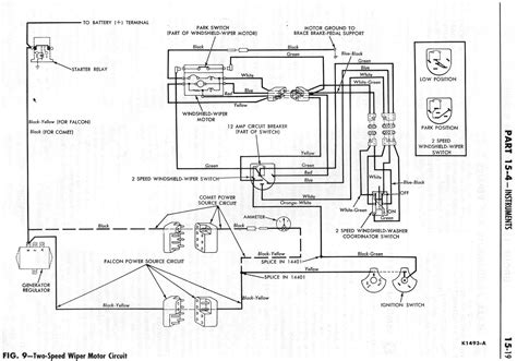 Ford F 350 Windshield Wiper Motor Wiring Diagram by Ford Wiper Motor Wiring Color Wiring Diagram On The Net