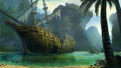 Ship Desktop Wallpapers Pirate Sea Mobile Walldevil