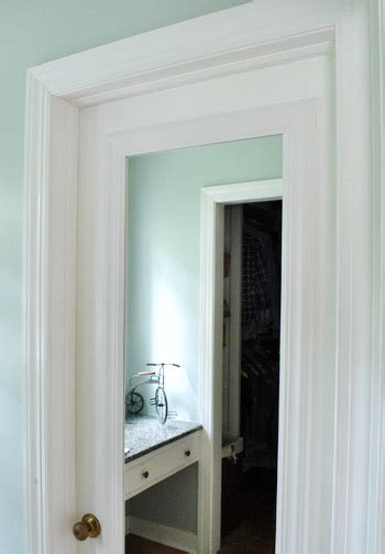 framing   mirror  mounted   door diy closet