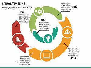 Spiral Timeline Powerpoint Template