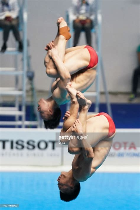 However, due to a serious injury in 2012, he is focusing more on springboard. Cao Yuan of China and Xie Siyi of China compete in Men's ...