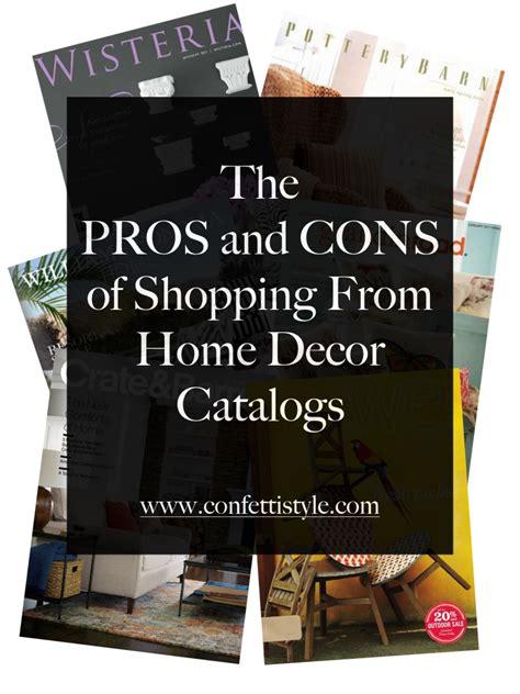 shopping home decor catalog shopping for home decor the pros and cons