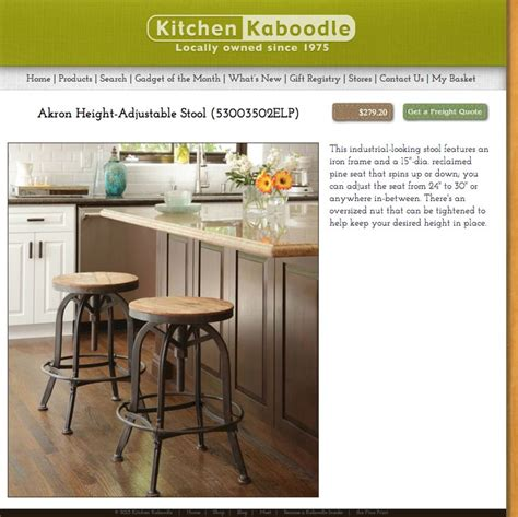 kitchen kaboodle furniture kitchen kaboodle stool j s bng furniture home decor