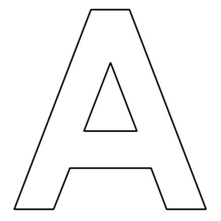 Einzigartig buchstaben vorlagen zum ausdrucken c bauen in oeldede. Buchstaben des Alphabets zum Ausdrucken   Basteln ...