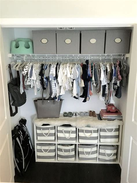 Small Baby Closet Organization Ideas by 25 Best Ideas About Baby Room Closet On Baby