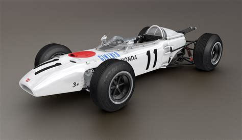 Honda Ra 272 Formula 1 Racing Car 3d Model C4d Cgtradercom