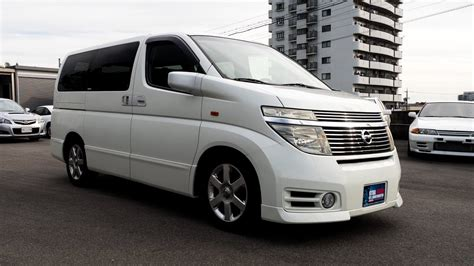 Nissan Elgrand Modification by Walk Around 2004 Nissan Elgrand Highway 3 5l V6