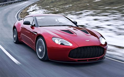 aston martin  zagato red car hd wallpaper car pixo