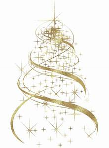 Christmas Tree clipart golden - Pencil and in color ...