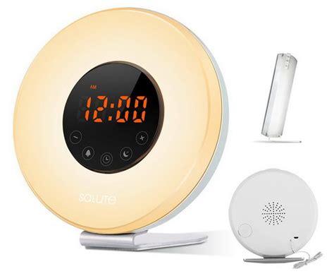 best wake up light best deal wake up light salute sunrise simulator alarm