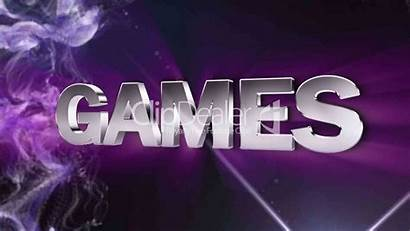 Games Text Double Particle Version Royalty Clips