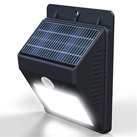 vont outdoor waterproof solar motion led light security