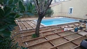 Support Terrasse Bois : lambourdes en bois exotiques pour terrasse et contour de ~ Premium-room.com Idées de Décoration
