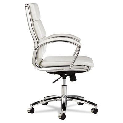 alera 174 neratoli mid back swivel tilt chair white stain